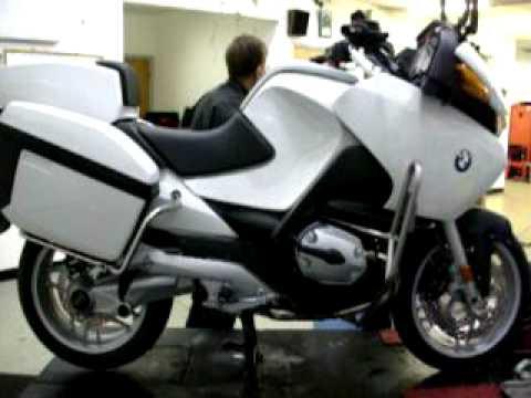 2009 bmw r1200rt police bike before transformation youtube. Black Bedroom Furniture Sets. Home Design Ideas