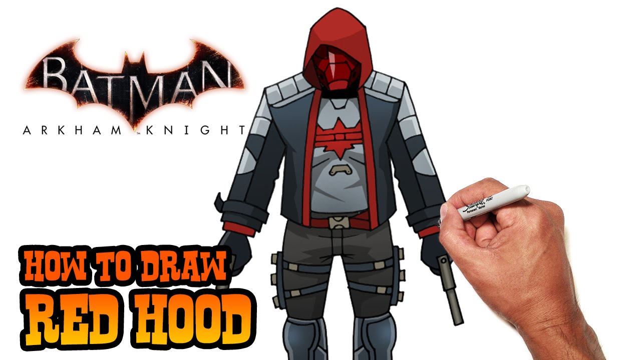 How to Draw Red Hood  DC Comics  YouTube