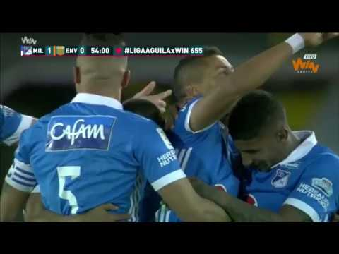 Envigado vs Millonarios (2-1) Fecha 3 Liga Postobón 2013-II from YouTube · Duration:  1 minutes 30 seconds