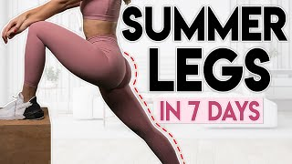 HOT GIRL SUMMER LEGS in 7 Days 15 minute Home Workout