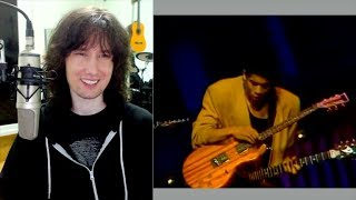 British guitarist reacts to Stairway played  VERY differently by Stanley Jordan!
