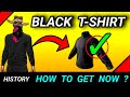 How to get black t shirt in free fire | Black t shirt in free fire | Free fire black t shirt