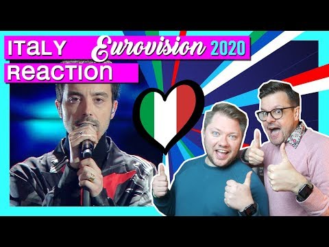 Italy Eurovision 2020 // REACTION // Diodato - Fai Rumore