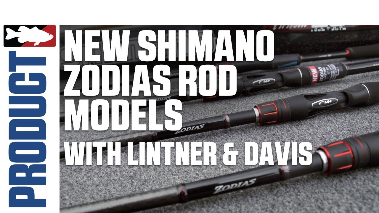 New Shimano Zodias Rod Models with Jared Lintner & Alex Davis