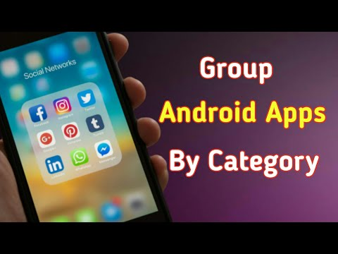 How to Group Apps By Category on Android in 2020