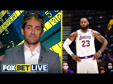 Will LeBron, Lakers have to compete in the play-in tournament? | NBA | FOX BET LIVE