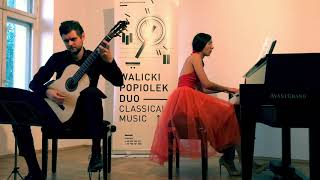 Walicki-Popiolek Duo plays Libertango by Astor Piazzolla