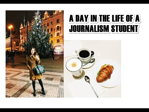 A Day In The Life Of A Journalism Student  | Leila Mekhdiyeva