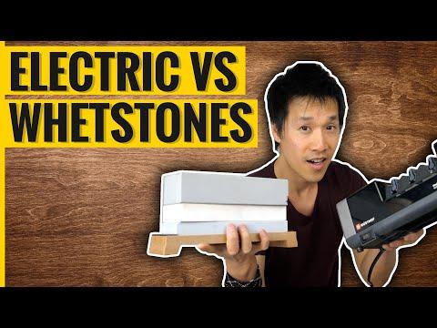 Electric Sharpener vs Whetstones - Best $150 Spent