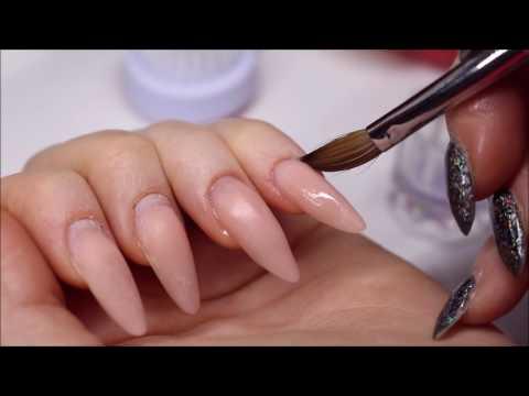 Nail Maintenance Acryl Nails Umplerea Unghiilor De Acryl Relleno