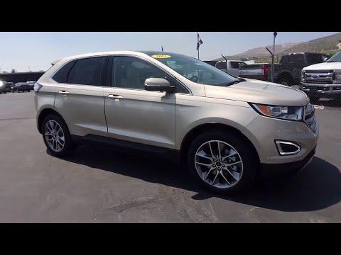 Capital Ford Carson City >> 2017 Ford Edge Carson City, Reno, Northern Nevada, Susanville, Sacramento, CA 32558 - YouTube