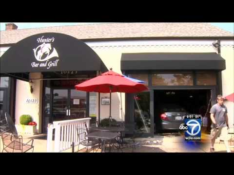 Car Smashes Into Restaurant In Potomac Md