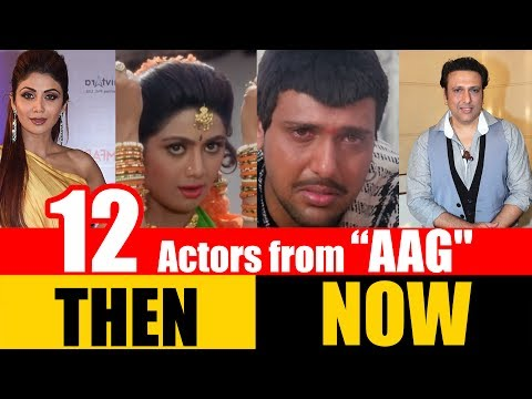 "12 Bollywood Actors from ""AAG"" 1994 