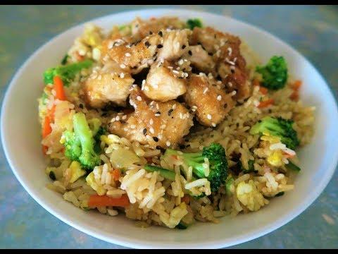 recette-138-:-riz-sauté-au-poulet-laqué-à-la-chinoise-et-aux-légumes-/-chicken-&-veg-fried-rice