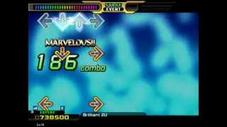 StepMania Time!! NAOKI - Brillant 2U (DDR Full-Full Party Version (Wii))