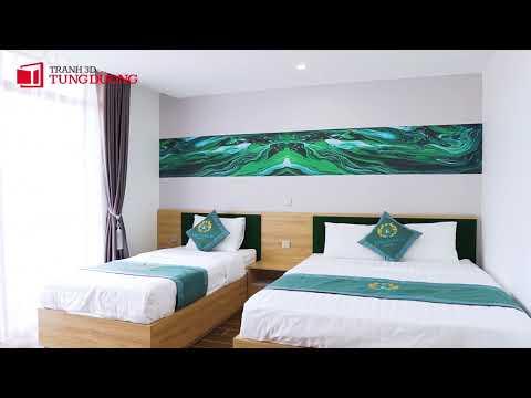Thi công khách sạn EMERALD   Tranh 3D Tùng Dương