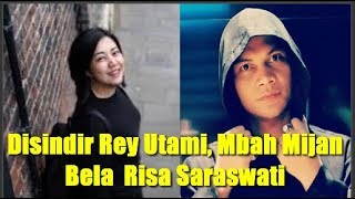 Download Video Disindir Rey Utami, Mbah Mijan Bela  Risa Saraswati MP3 3GP MP4