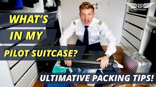 WHAT'S IN A PILOT SUITCASE? | MY ULTIMATE PACKING TIPS