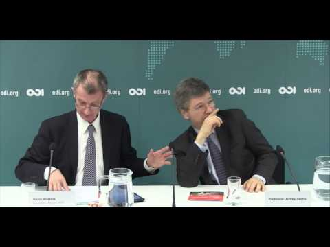 Financing for development: keynote speech by Jeffrey Sachs and panel debate