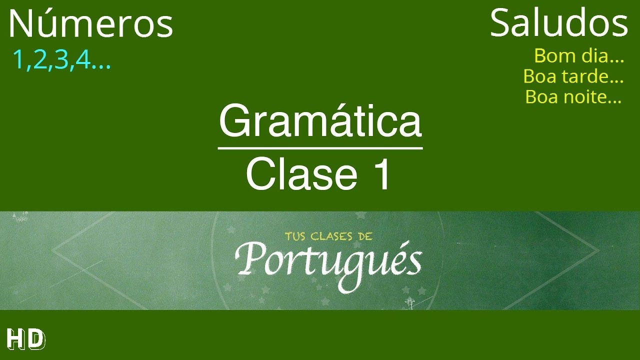 Portuguese Classes from Spanish - Class 1.1 - Greeting and ...