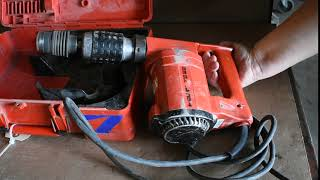 Hilti TE 22 Electric Hammer Drill With Case