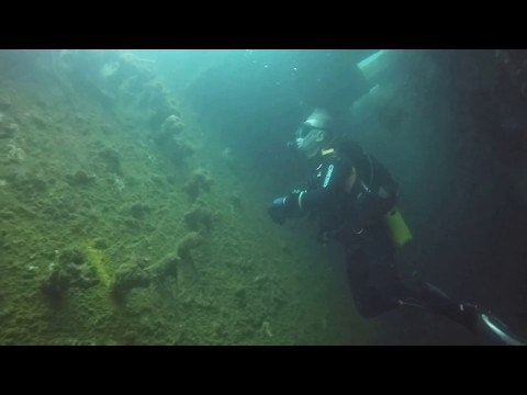 WWII Wreck diving Subic Bay