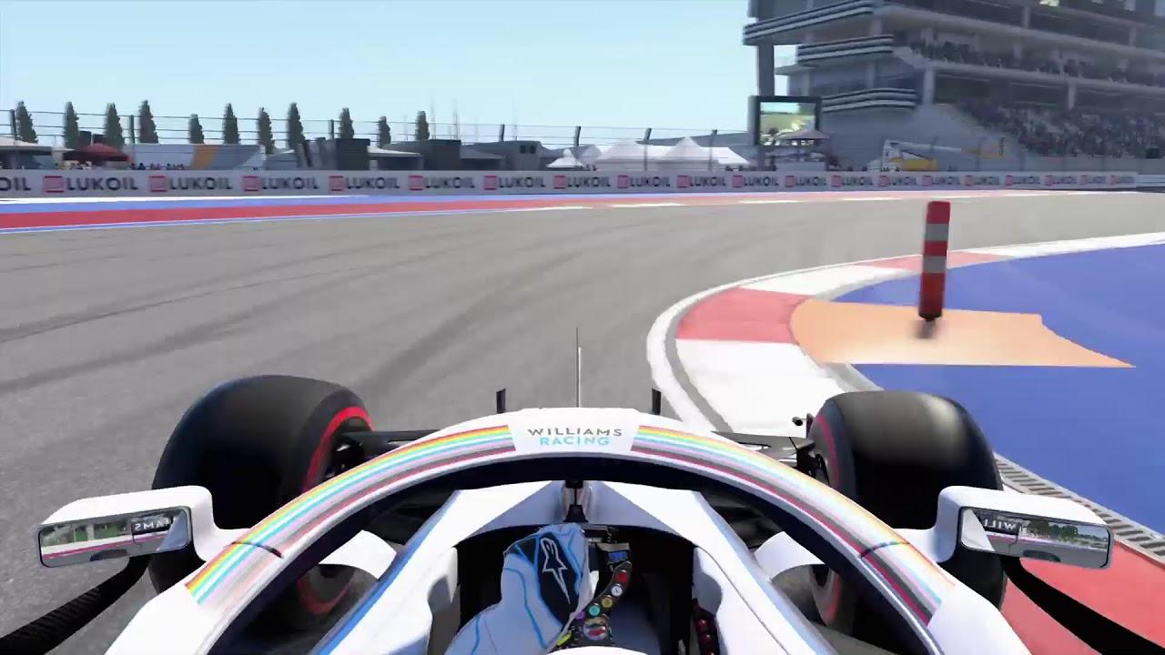 Download F1 2020 ロシア練習