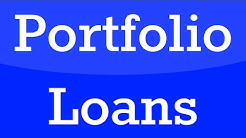 What is a portfolio loan?