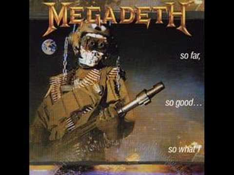 Megadeth into the lungs of hell