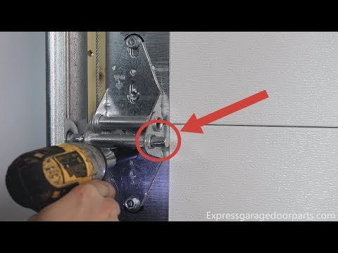 Garage Door Rollers And Hinges Replacement [How To *2019 Updated]