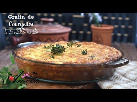 gratin-de-courgettes-à-la-viande-hachée,-repas-pour-dîner-facile-et-rapide