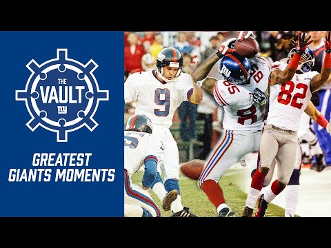 The GREATEST Moments In Giants History |