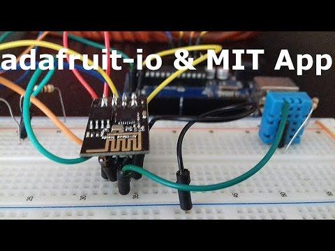 Adafruit-IO Meets ESP8266, Arduino & MIT App Inventor 2