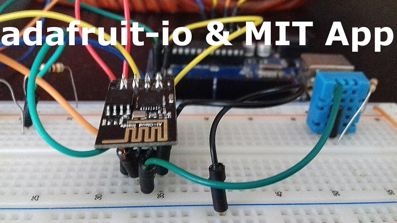 Adafruit-IO Meets ESP8266, Arduino & MIT App Inventor 2 !!! #kidSerie-05