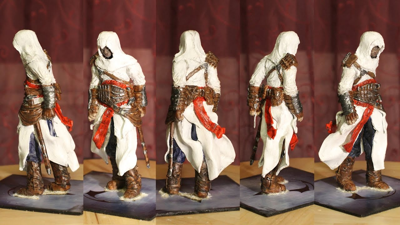 Assassins Creed - Altair statue timelapse + HQ pics - YouTube