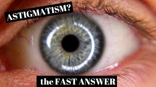 Astigmatism Explained in One Minute