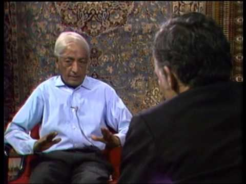 J. Krishnamurti  San Diego 1972  Convers. 1 with E. Schallert  Goodness only flowers in freedom