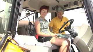 TraktorTV Folge 49 - Traktor Fahrschule mit einem Massey Ferguson