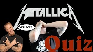 Metallica Song Test! THE PRESSURE IS ON!
