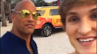 When Logan Paul pissed off the rock Dwayne Johnson