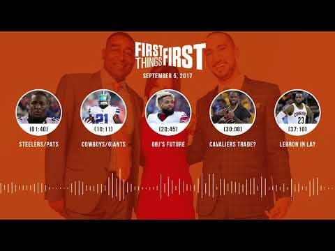 First Things First audio podcast (9.5.17) Cris Carter, Nick Wright, Jenna Wolfe | FIRST THINGS FIRST