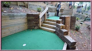 THE CRAZIEST HOLE IN ONE EVER IN A MINI GOLF GAME! - ONCE IN A LIFETIME SHOT! | Brooks Holt