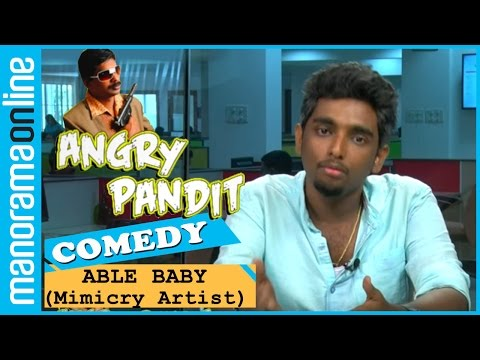 Angry Pandit | Able Baby Enacts Santhosh Pandit | Funny Video | Manorama Online