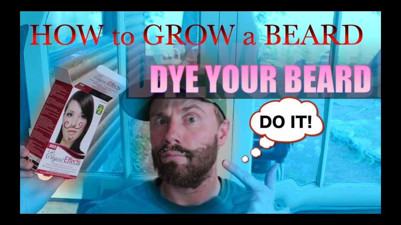 HOW to GROW A BEARD: BEARD COLORING BASICS - YouTube