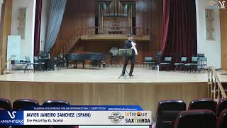 Javier JANEIRO SANCHEZ plays Tre Pezzi by G. Scelsi #adolphesax