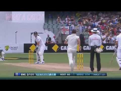 Peter Siddle 4/57 vs England 2nd Ashes Test 2013-14