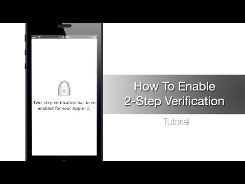 How to Enable 2-Step Verification for Apple ID
