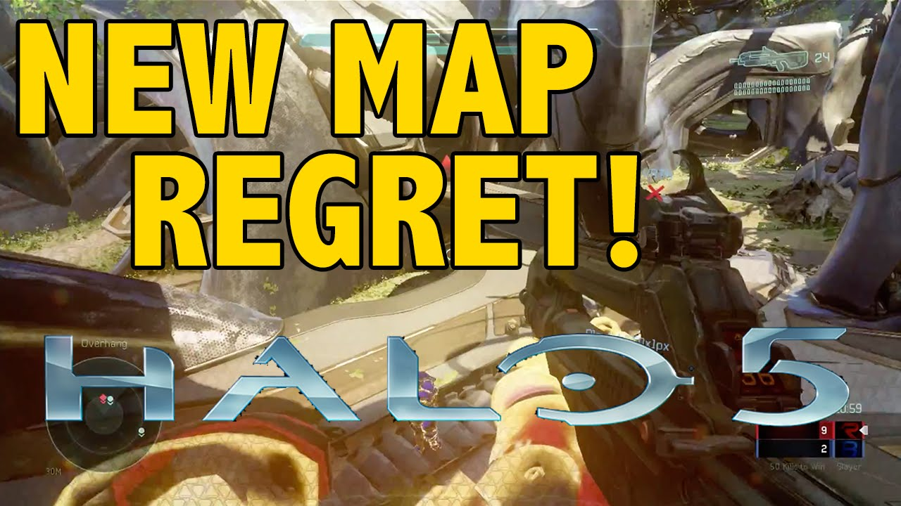New Halo 5 Map 'Regret' Breakdown!