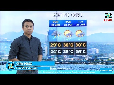 Public Weather Forecast Issued at 4:00 AM January 20, 2018
