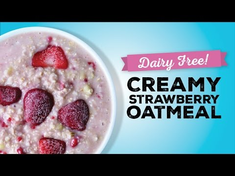 Strawberries n' Cream Oatmeal Recipe